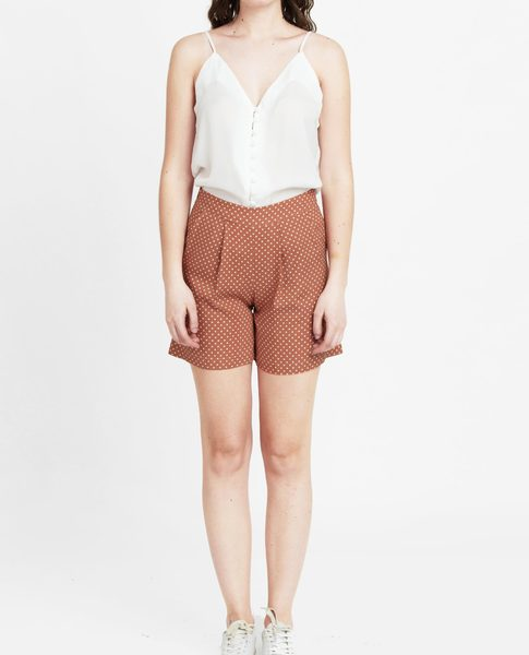 VISCOSE SHORTS (PEACH)