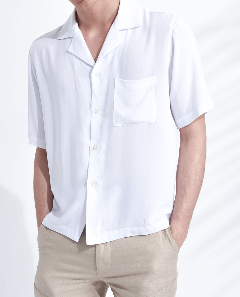 VISCOSE SHIRT (ECRU)