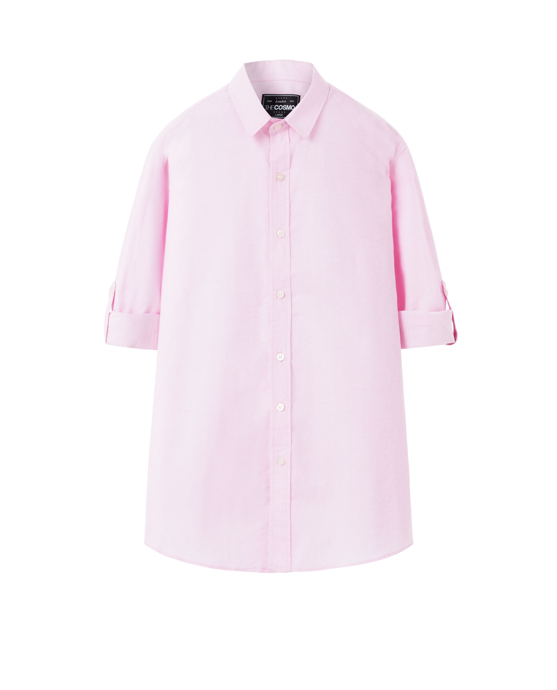ROLL UP SHIRT (PINK)