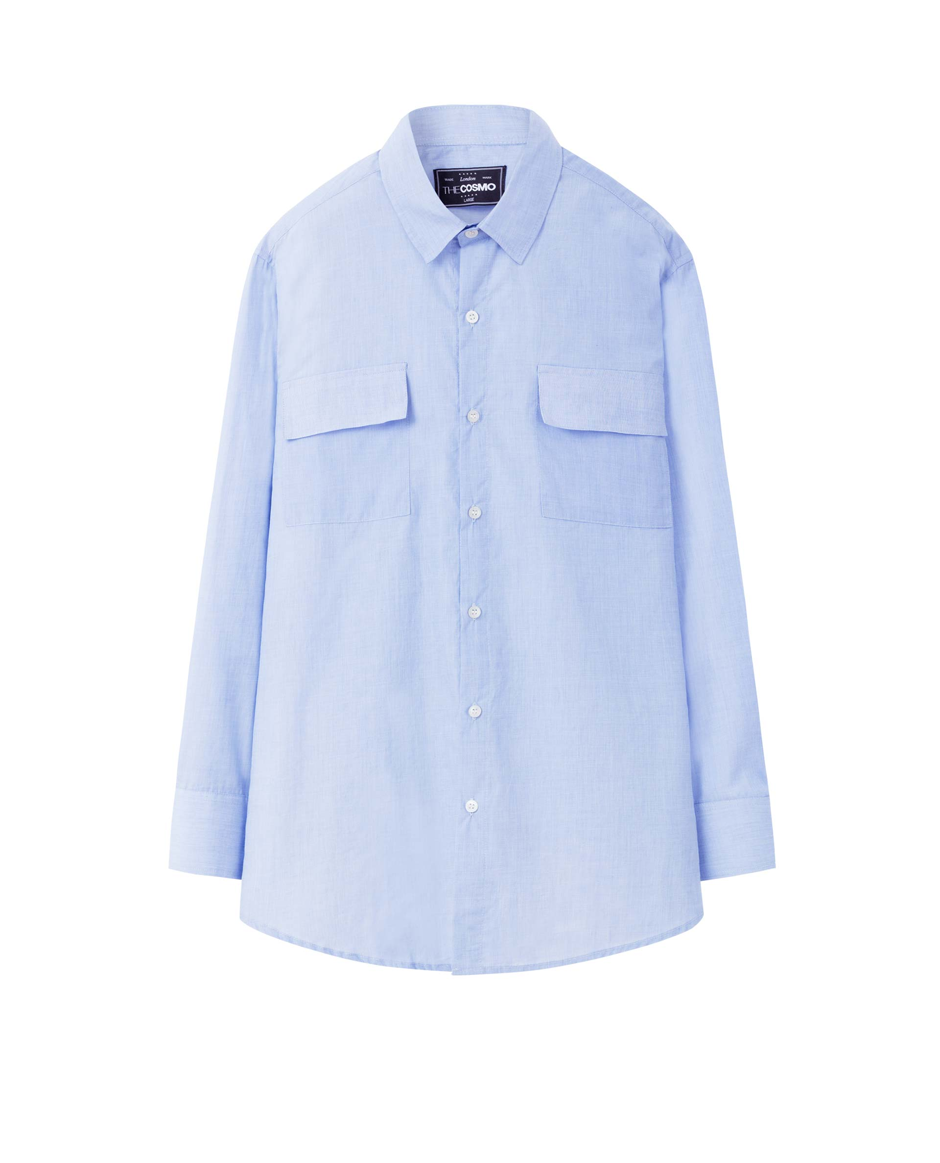 CHEST POCKET SHIRT (SKY)