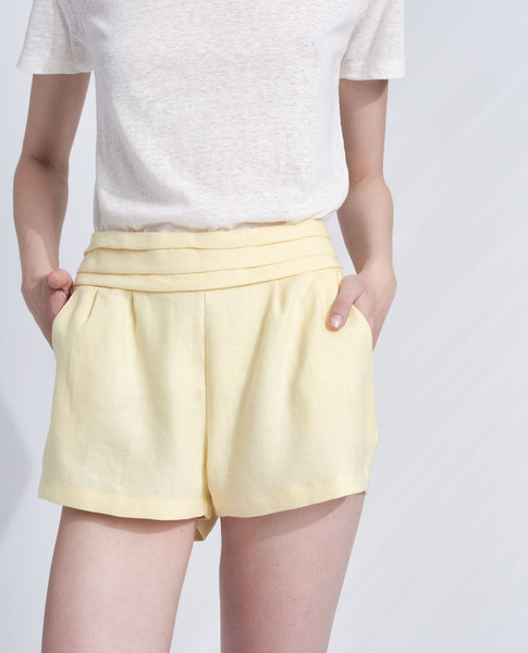 SORBET SHORTS (LEMON)