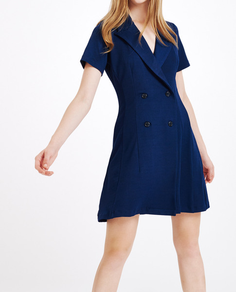 ADELA DRESS (NAVY OCEAN)