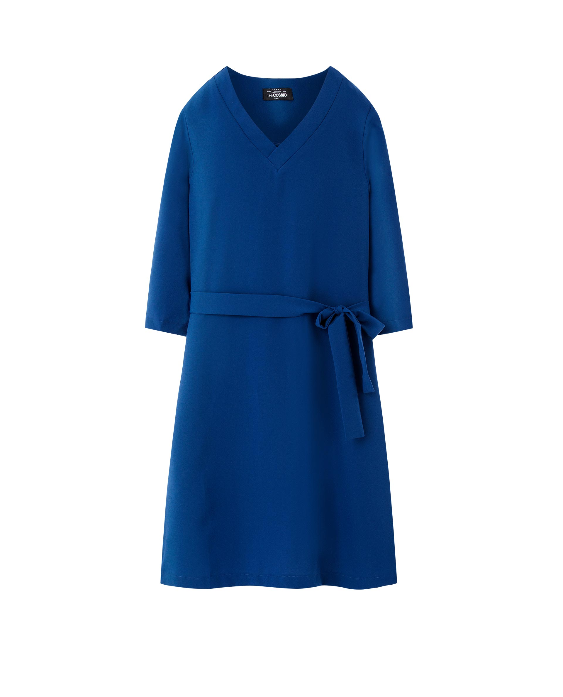 EVELYN DRESS (BLUE)