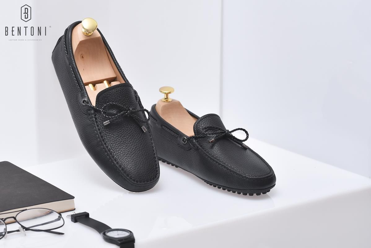 Bow Tie Flexy Loafer | Đen - 38