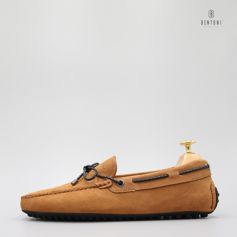 Bow Tie Flexy Loafer | Nâu