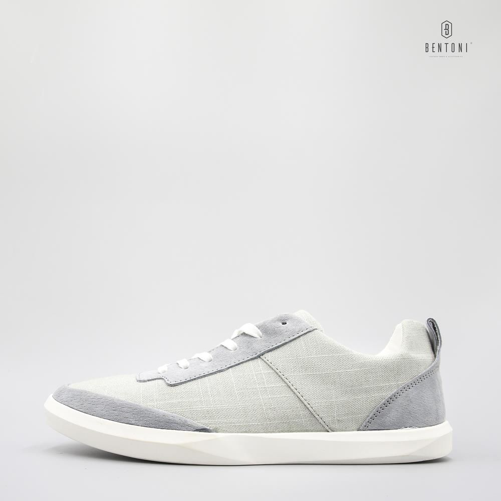 Canvas Mix Sneaker | Xanh Xám - 38