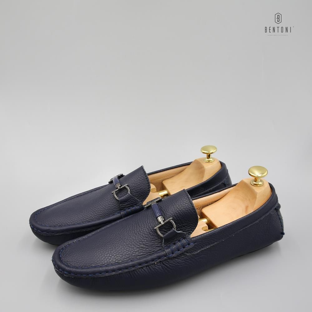 D-Horsebit Loafer | Xanh - 39