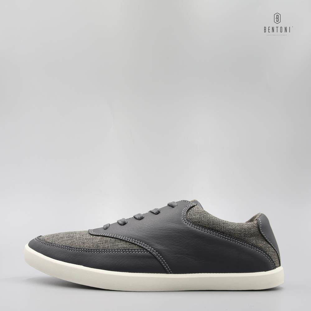 Canvas Mix Sneaker Ii - Ghi