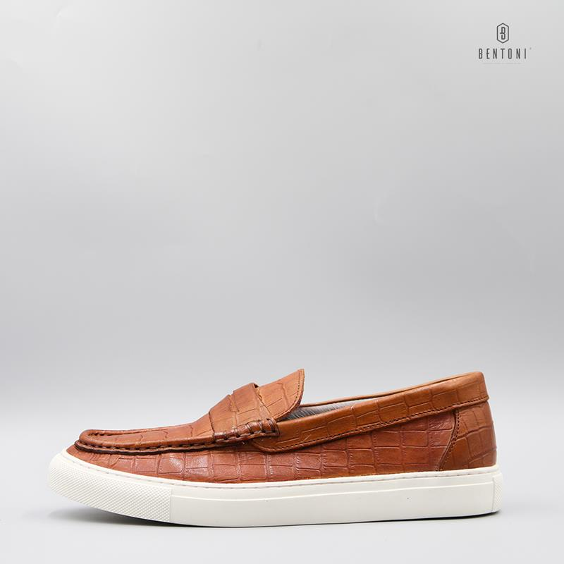 Crack Curbed Loafer 2.0 | Nâu