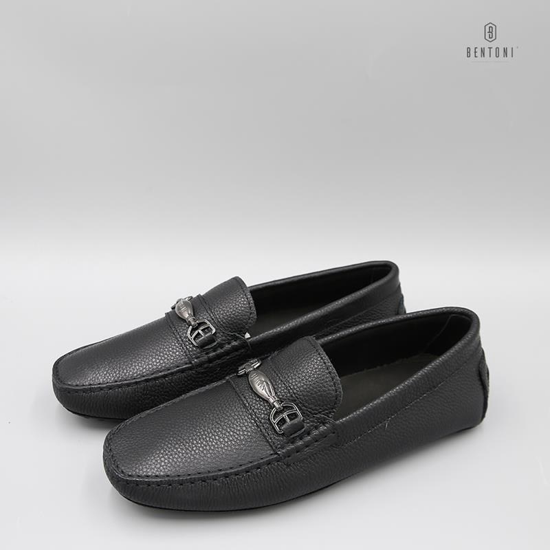 Simple Horsebit Loafer | Đen