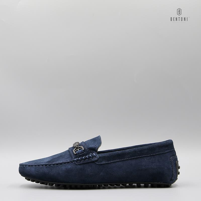 Dandy Horsebit Loafer | Xanh Tím Than - 41