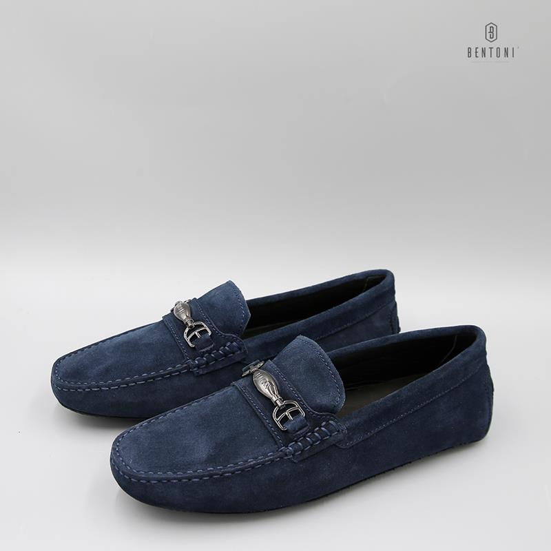 Dandy Horsebit Loafer | Xanh Tím Than