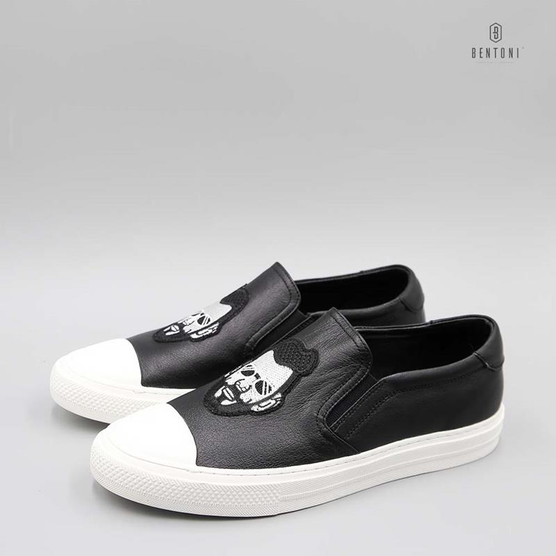Cool-man Slipon | Đen