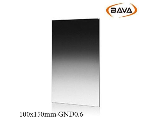 BAVA GND0.6 Soft Resin Graduated Filter 100x150mm
