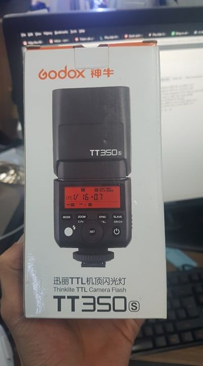 Godox TT350 - For Sony - Mới 99%
