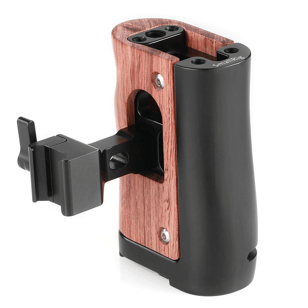 SmallRig NATO Handle for BMPCC 4K and Samsung T5 SSD 2270