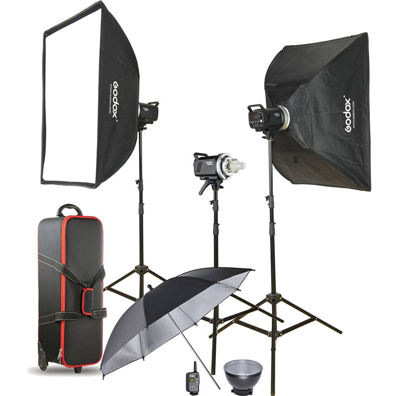 Bộ đèn Godox DP Studio Flash Kit (MS300II-D)
