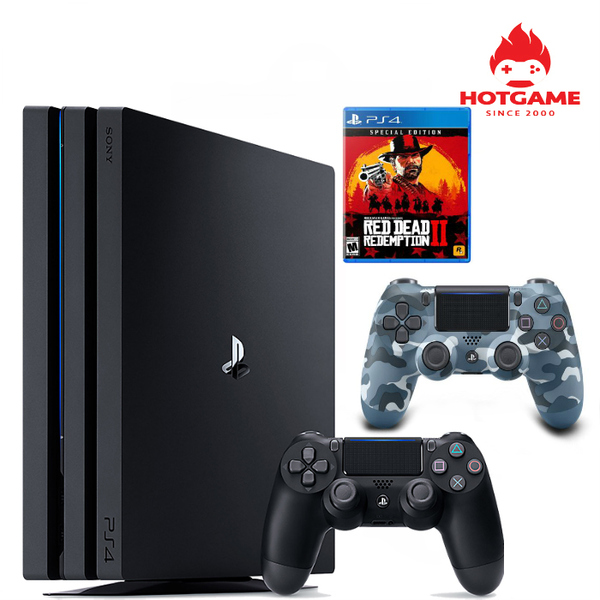 Máy PS4 Pro Red dead redemption 2