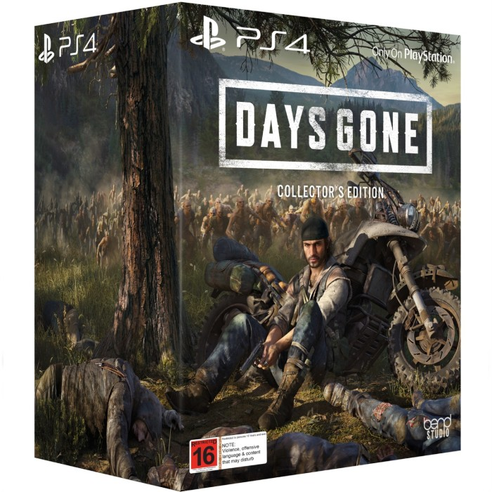 Days gone collector edition