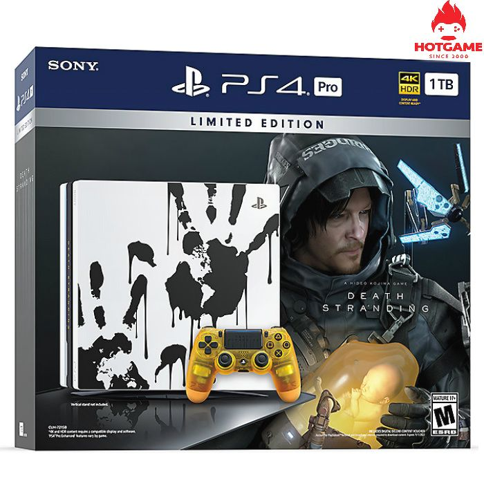 Máy PS4 Pro Death stranding limited editon