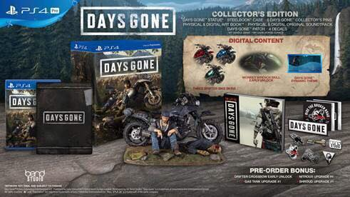 Days gone collector edtion