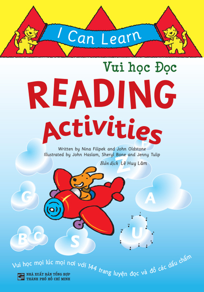 I can Learn: Reading Activities – Vui học Đọc