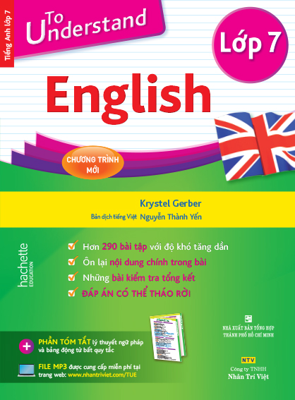 To Understand English – Lớp 7