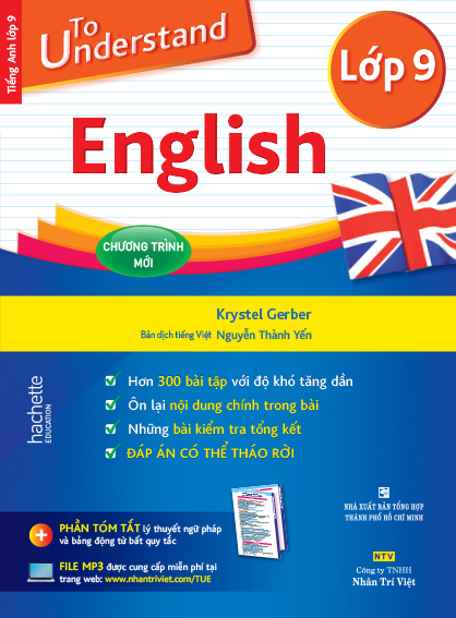 To Understand English – Lớp 9