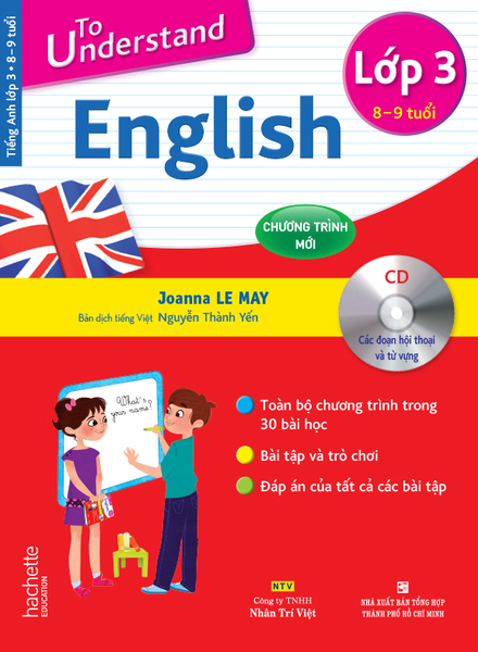 To Understand English – Lớp 3 (8-9 tuổi)
