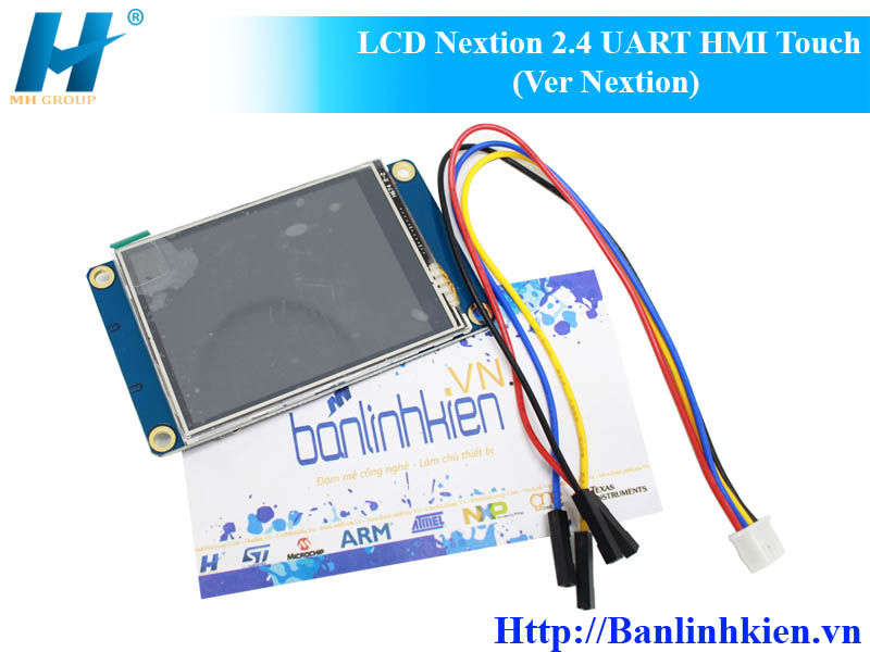 LCD Nextion 2.4 UART HMI Touch (Ver Nextion)