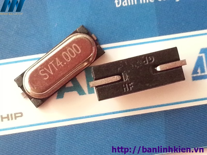 Thạch anh 4Mhz 49S SMD