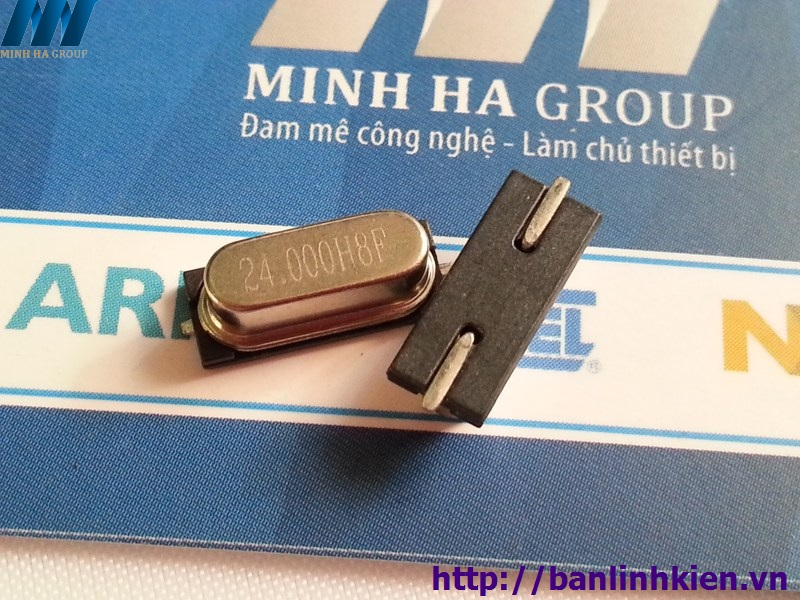 Thạch Anh 24Mhz 49S SMD