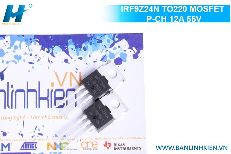 IRF9Z24N TO220 MOSFET P-CH 12A 55V