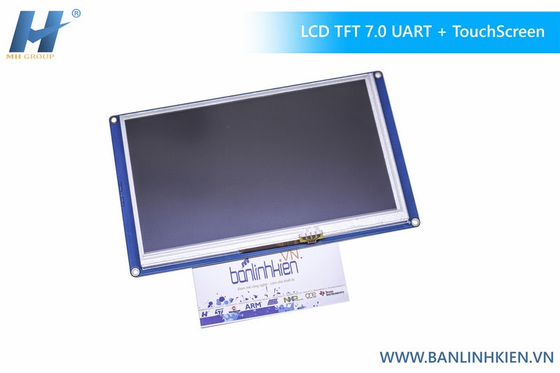 LCD TFT 7.0 UART HMI Touch (Ver China)