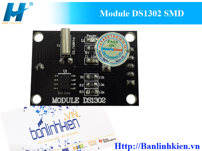 Module DS1302 SMD