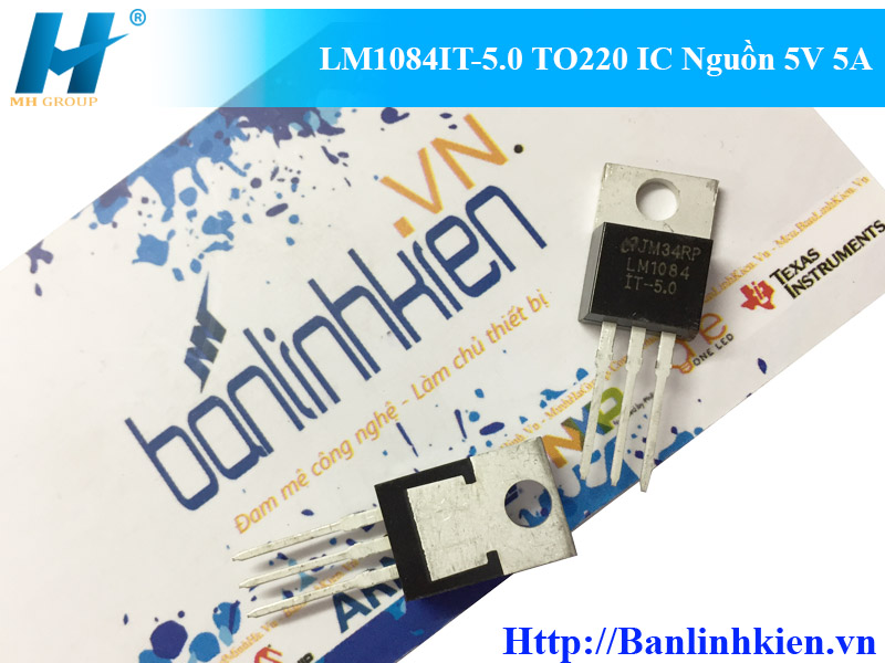 LM1084IT-5.0 TO220 IC Nguồn 5V 5A