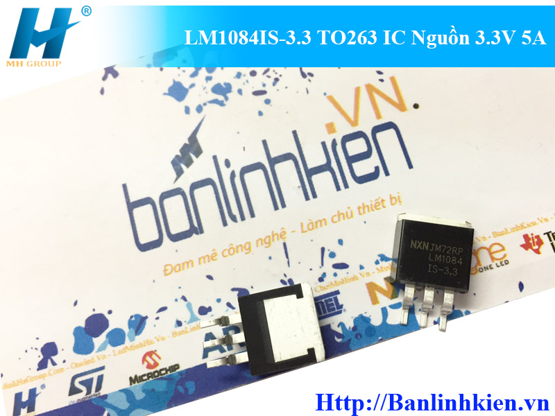 LM1084IS-3.3 TO263 IC Nguồn 3.3V 5A