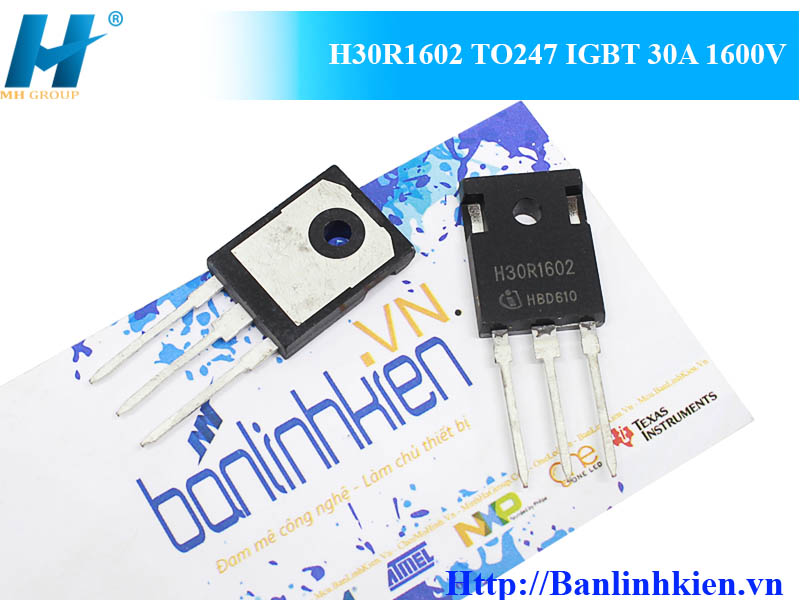 H30R1602 TO247 IGBT 30A 1600V