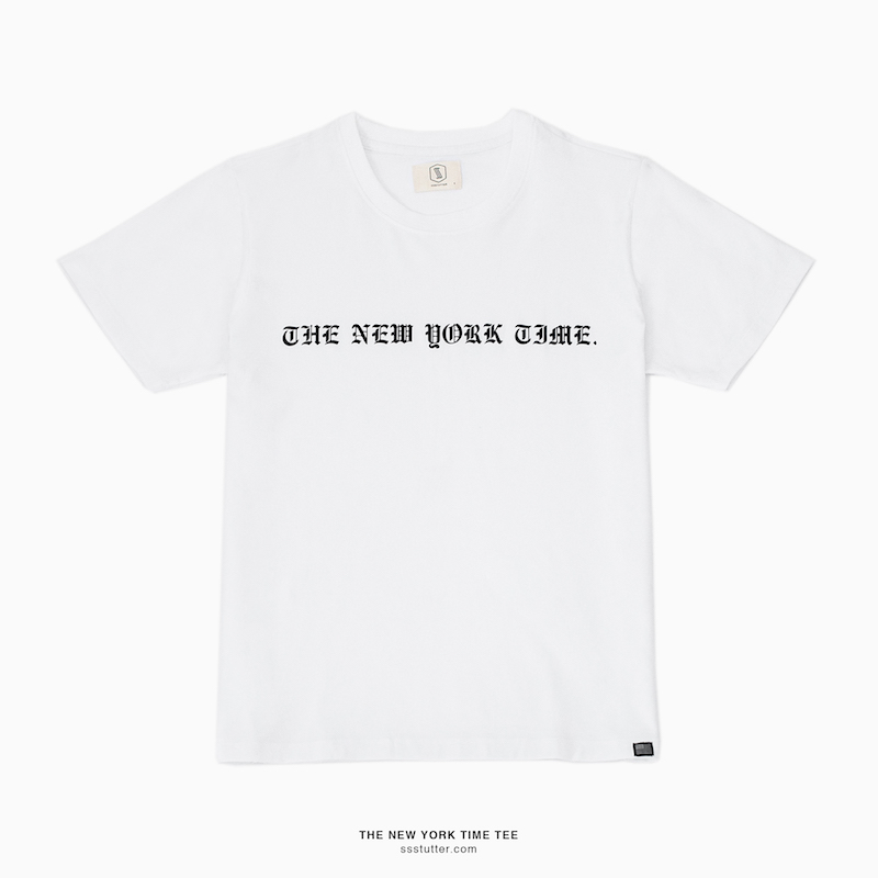 THE NEW YORK TIME TEE