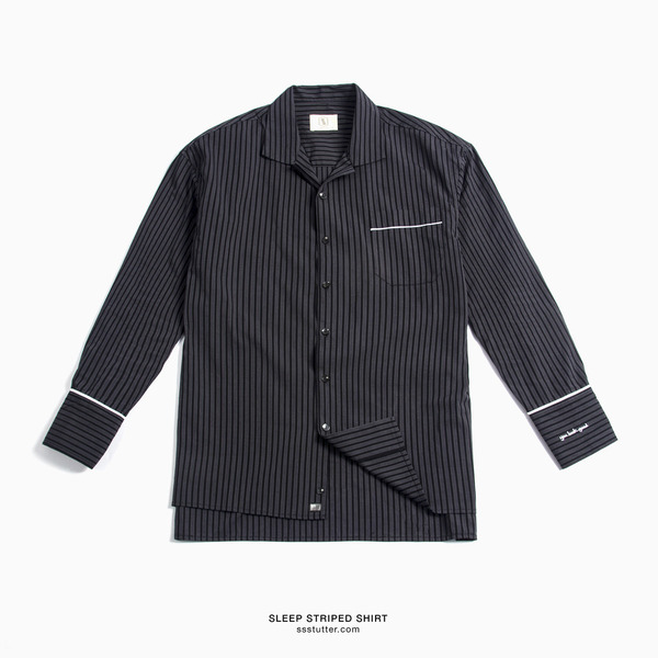 SLEEP STRIPED SHIRT