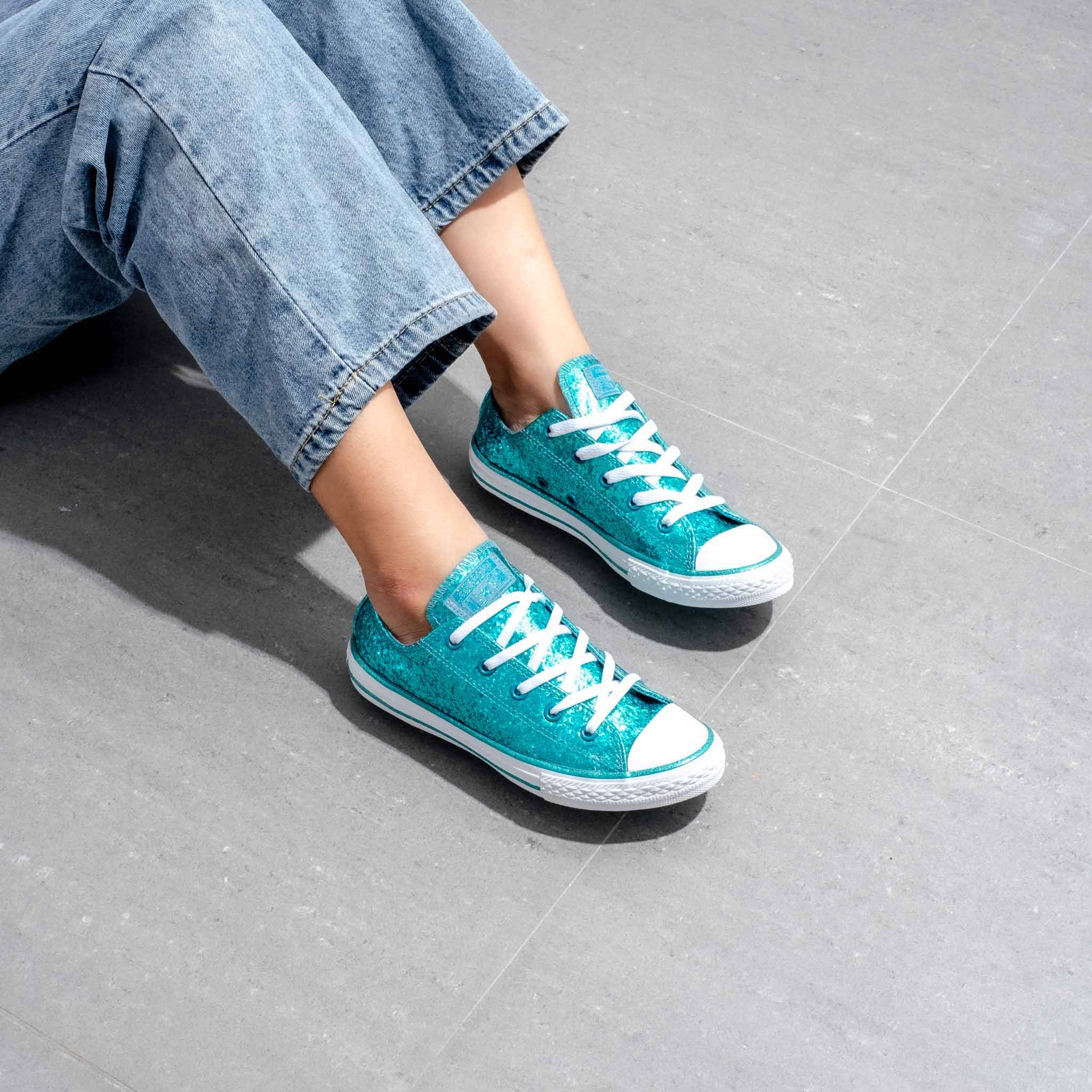 Converse Lowtop Serquin Teal - 36.5