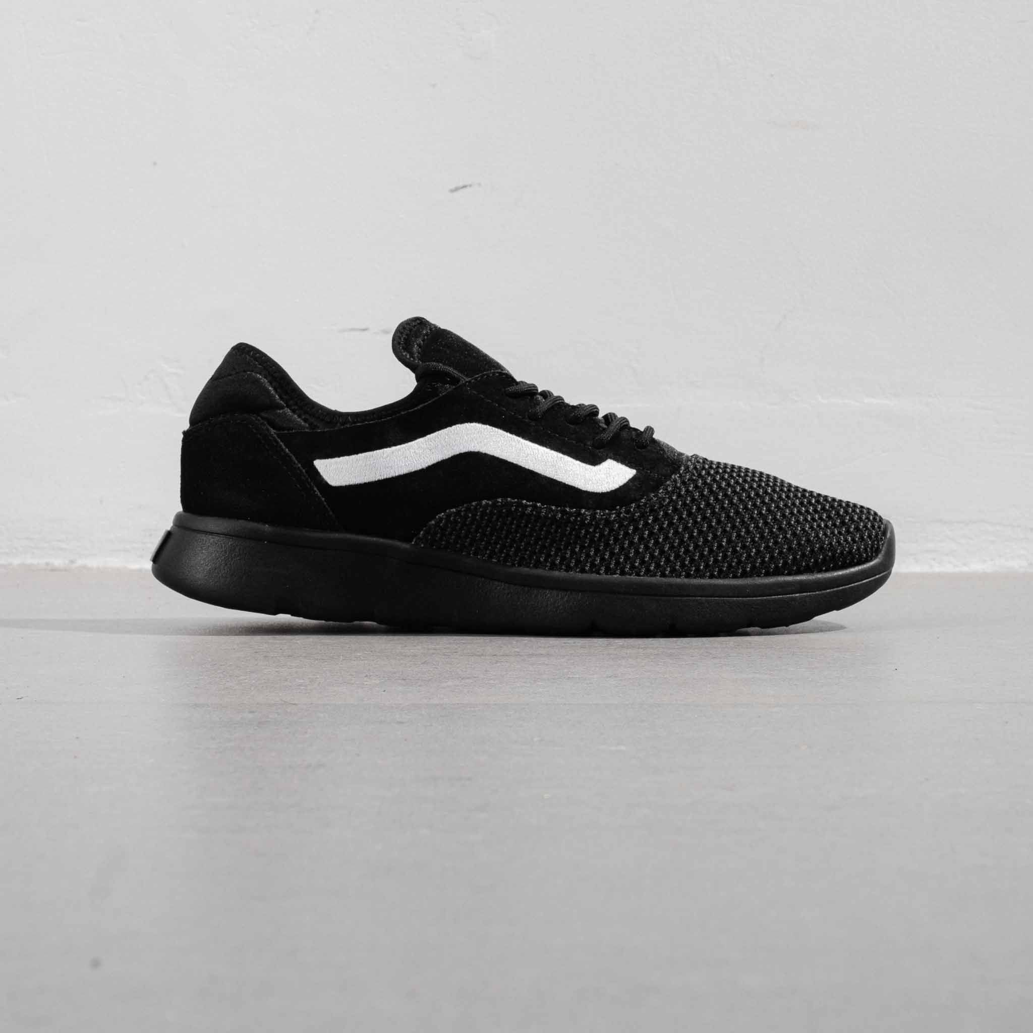 Vans Ultracush All Black Line White - 41