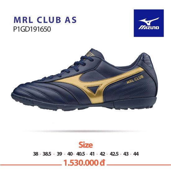 Giày Mizuno MRL CLUB AS Xanh/Than