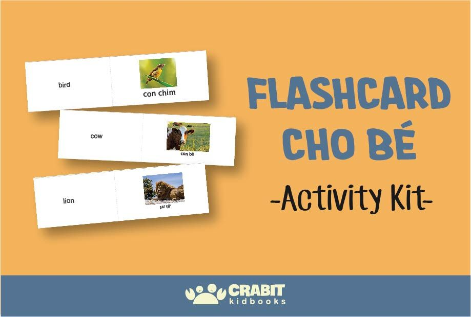 Activity Kit - Flashcard cho bé
