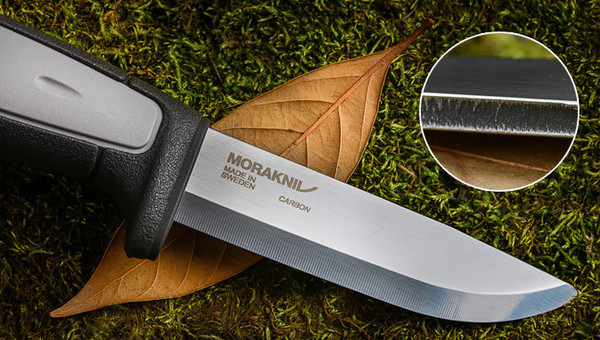 Morakniv Robust Carbon Steel TPE Rubber Handle