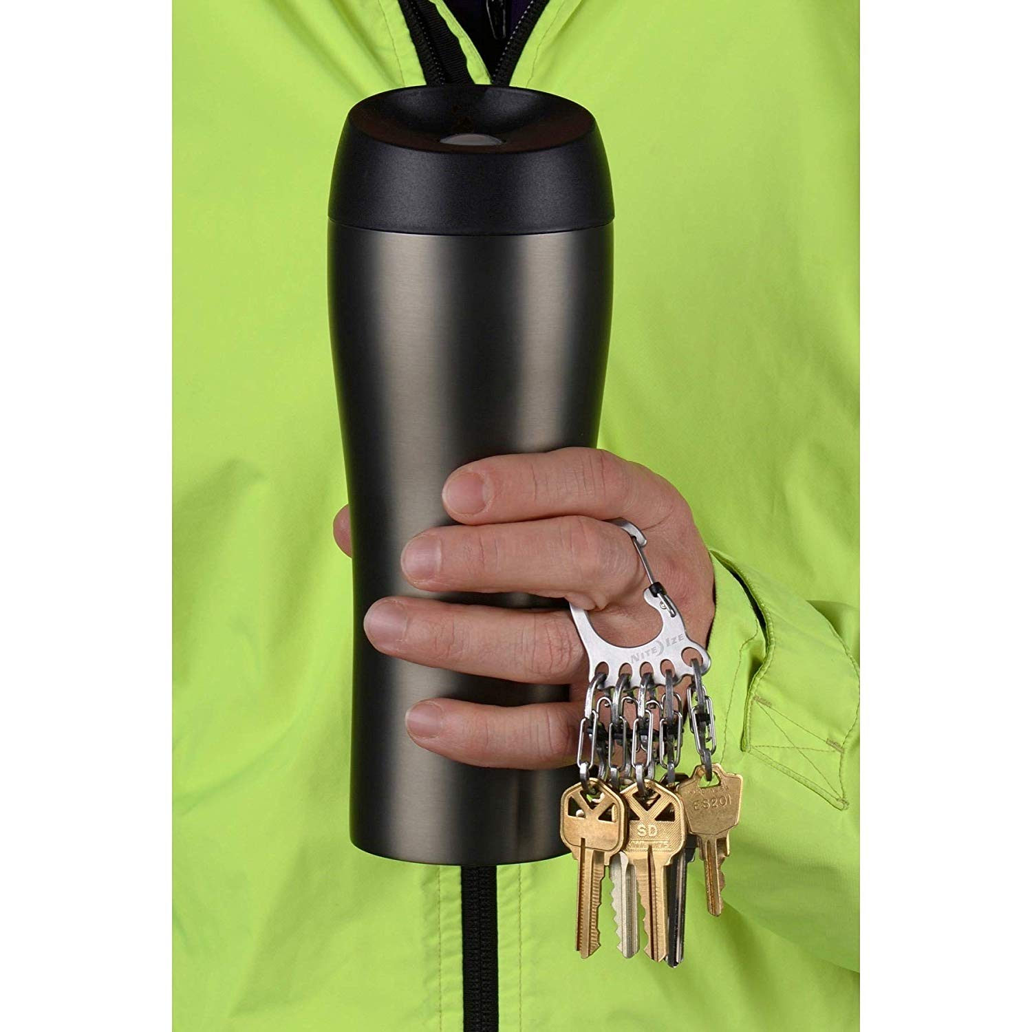 Móc Khoá Nite Ize Bigfoot Locker Keyrack