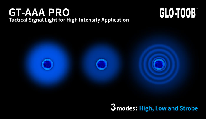Glo Toob GT AAA Pro LED Marker Light Blue