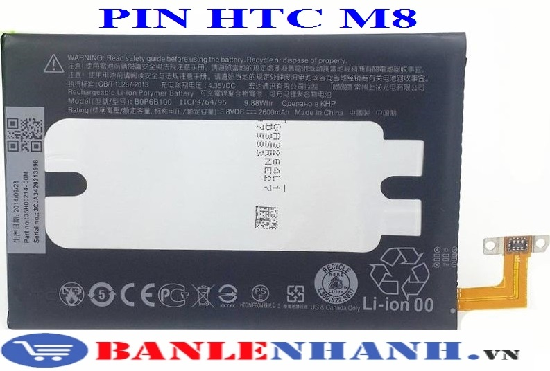 PIN HTC ONE M8