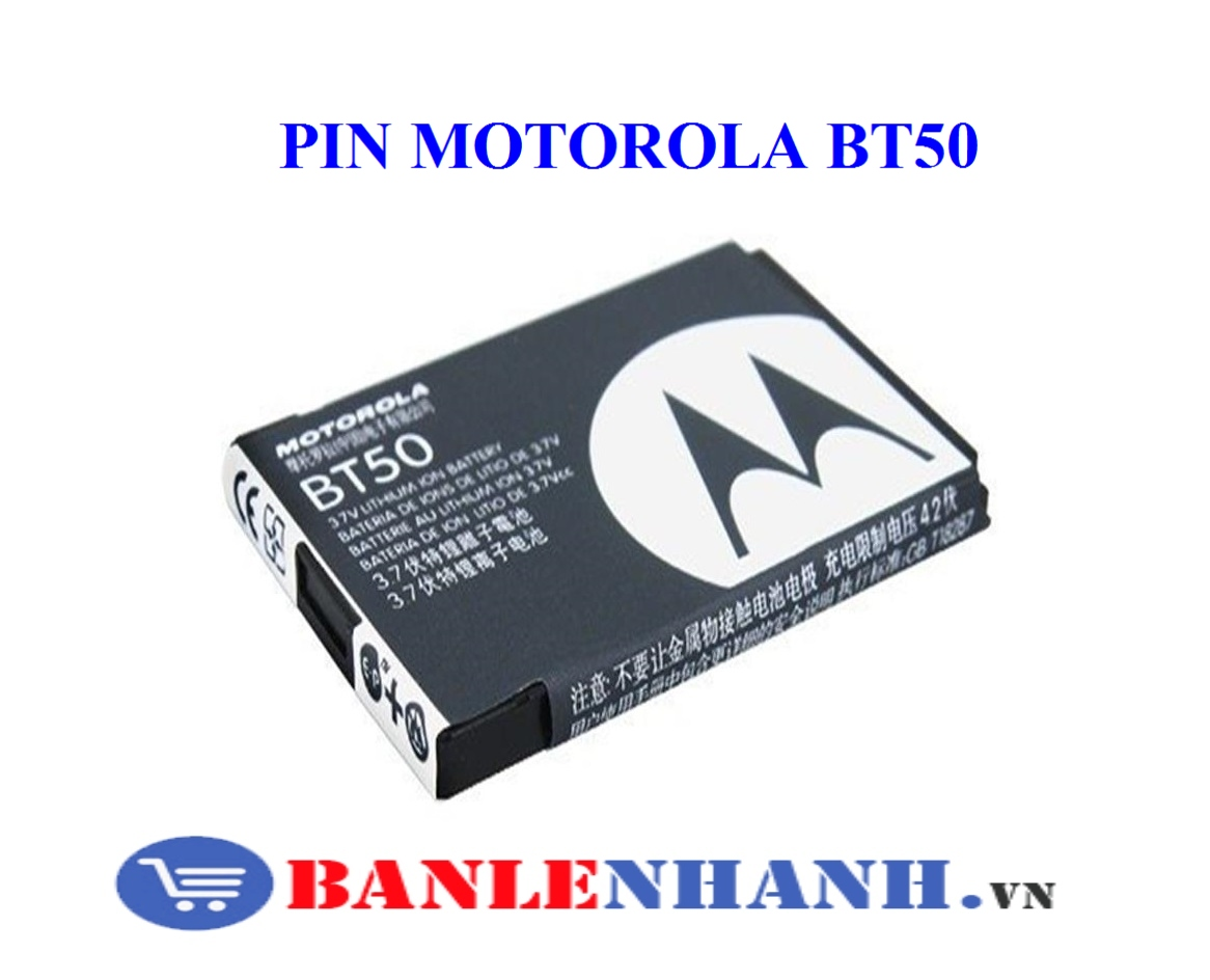 PIN MOTOROLA BT50