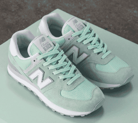 New balance 574 xanh mint